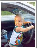 Папа, я тоже буду автомобилист