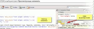Окно редактора Просмотр кода элемента St 53_3
