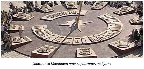 Солнечные часы Макеевки