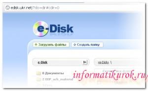 Что такое E-Disk