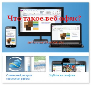 Что такое веб офис?