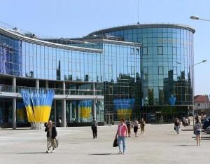 Новый железнодорожный вокзал г.Донецка
