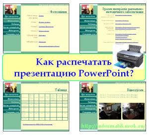 Как распечатать презентацию PowerPoint?