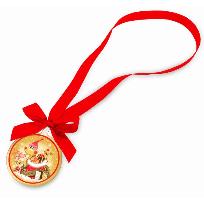 Шоколадная медаль - приз во втором конкурсе